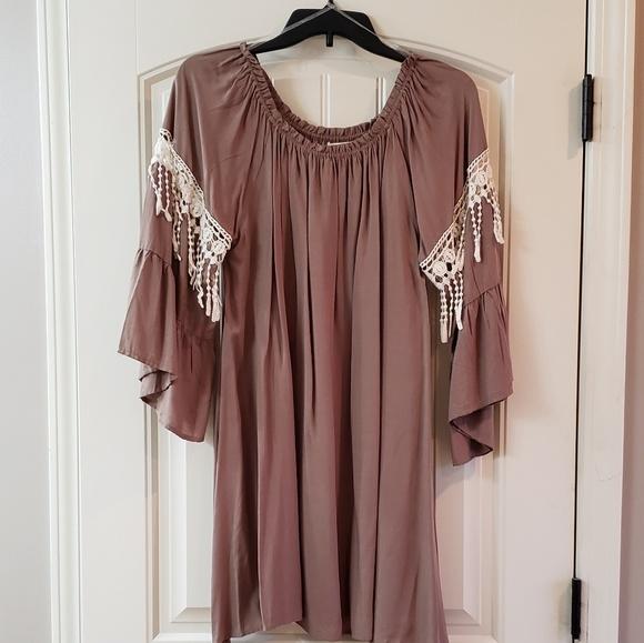 Umgee Dresses & Skirts - Bohemian type dress